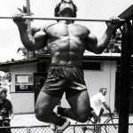 Franco Columbu barra fixa