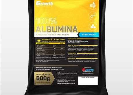 Albumina – Growth Supplements