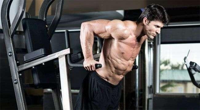 a importância do exercício paralelas no treino de tríceps