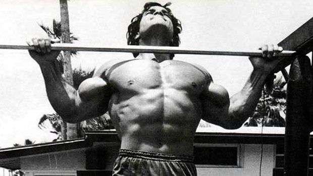 exercício barra fixa um dos melhores para ganho de massa nos músculos das costas