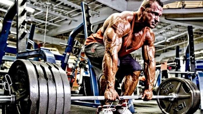 exercício levantamento terra para ganhar massa muscular