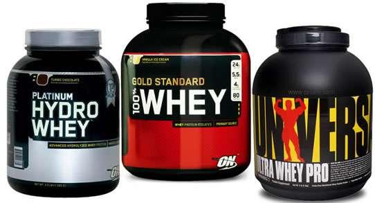 lista com os melhores suplementos para ganhar massa muscular