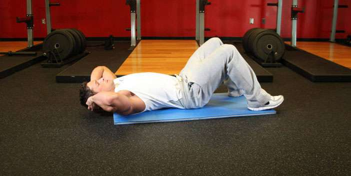 execução correta do exercício abdominal para abdômen