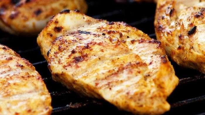 peito de frango na alimentação pré-treino