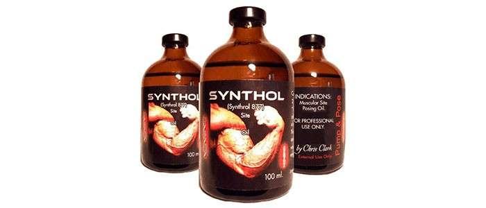 como usar synthol e quais os seus efeitos colaterais