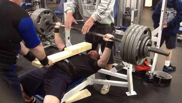 uso de repetições parciais no powerlifting