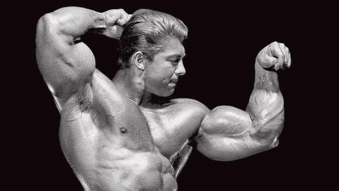 Bíceps de Larry Scott