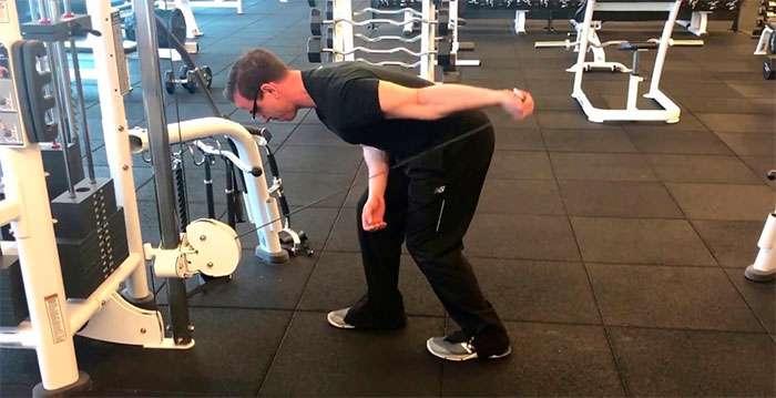 tríceps pulley coice