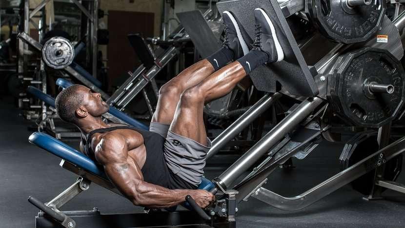a importância do leg press no treino de pernas