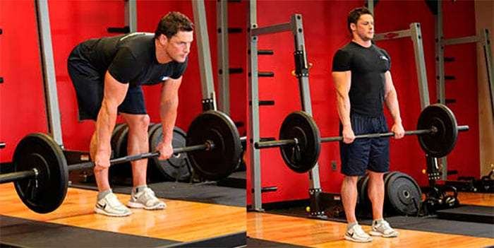 exercício stiff para pernas