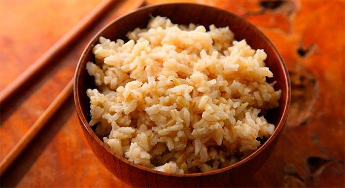 arroz integral carbo