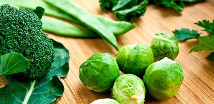 vegetais verdes
