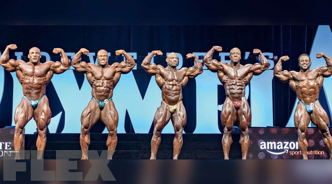 olympia lineup