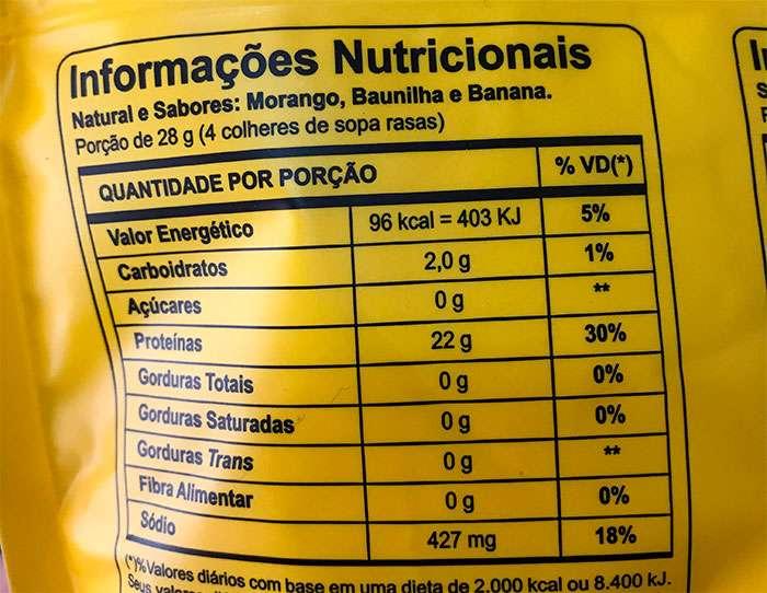 ficha nutricional albumina pura