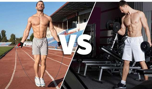 cardio ou treino