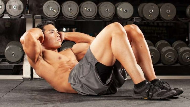 treino abdominal