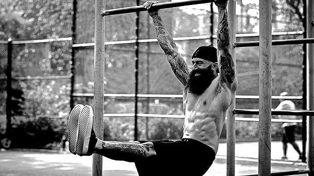 elevação de pernas exercício