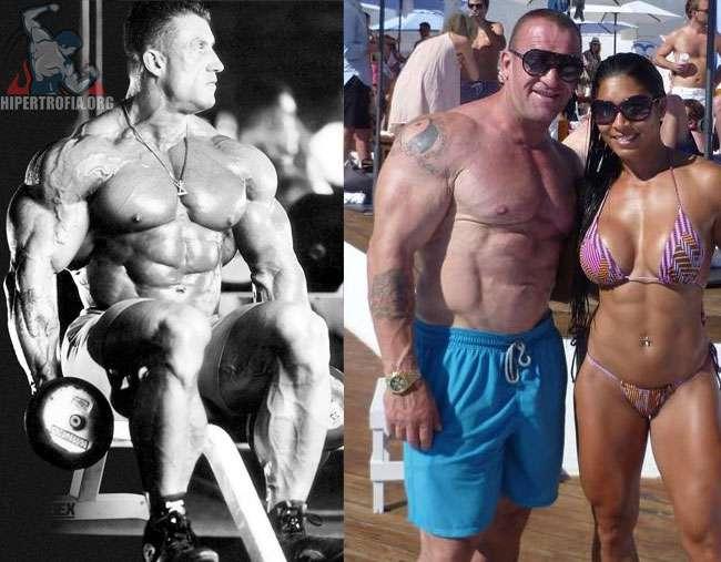 Dorian Yates antes e depois da carreira de fisiculturismo